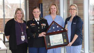 UPMC East Emergency Department Team Receives DoD Patriot Awards