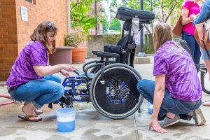 UPMC Mercy Wheelchair Wash