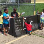 Young and Old Bond Through Summer Nutrition Program, Games and Activities
