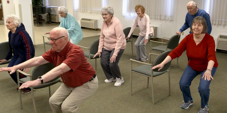 Exercise Program Combats Poor Mobility in Older Adults