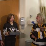 Magee, Pens Celebrate Littlest Fans Through 'It's a Great Day for a New Baby' Campaign