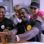 Pittsburgh Steelers Cook with Breast Cancer Warriors at Magee