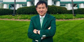 Dr. Freddie Fu Honored by Alma Mater