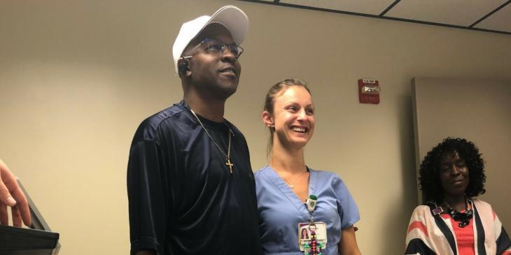 UPMC McKeesport Nurses Treat Patient like Family