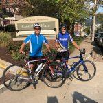 Don't Wait: Biking to Spread the Message