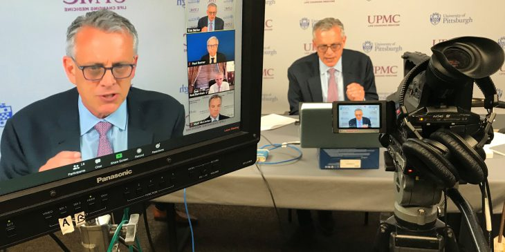 Dr. Steven Shapiro participates in a virtual roundtable hosted by Sen. Pat Toomey